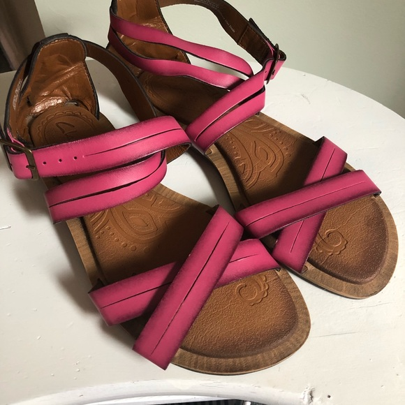 b826bafbc3c Clarks Shoes - Clarks Pink Sandals